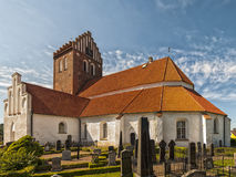 Bastad church Stock Image