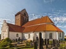 Bastad church Stock Image