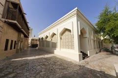 bastakiya地区清真寺 库存照片