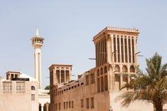 Bastakiya处所 免版税图库摄影