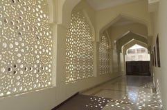 bastakiya装饰迪拜清真寺 图库摄影