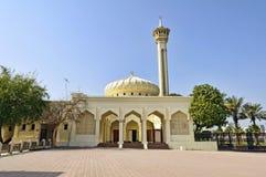 bastakiya迪拜清真寺季度 库存照片