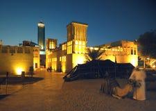 Bastakiya em Dubai foto de stock