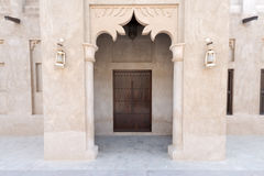 Bastakiya Quarter Architecture, UAE Royalty Free Stock Photo