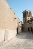 Bastakiya Quarter Architecture, UAE Stock Images