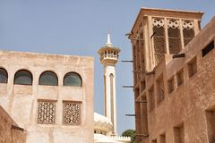 Bastakiya Quarter Stock Photos