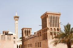 Bastakiya Quarter Royalty Free Stock Photography