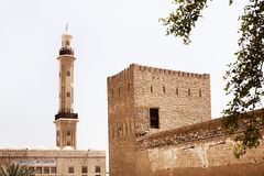 Bastakiya Quarter Stock Photography