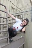 Bastante adolescente urbano Fotos de archivo
