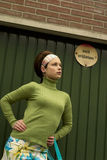 Bastante en verde Fotografía de archivo libre de regalías