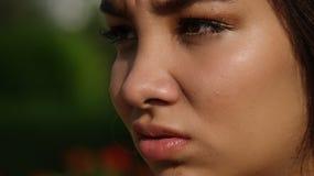Bastante femenino asqueado Imagen de archivo