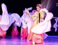 Bastante Huadan 2 - demostración clásica china de la Danza-graduación del departamento de la danza imagen de archivo libre de regalías