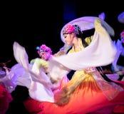 Bastante Huadan 1 - demostración clásica china de la Danza-graduación del departamento de la danza fotos de archivo libres de regalías