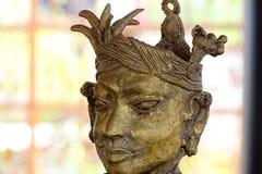 Bastar Tribe. Beautiful brass sculpture of Bastar Tribe stock image