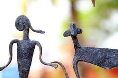 Bastar Tribe. Beautiful sculpture of Bastar Tribe royalty free stock photography
