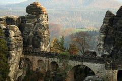 Bastei, Alemania Imagen de archivo libre de regalías