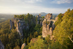 Bastei Stock Photo