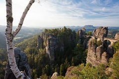 Bastei Royalty Free Stock Photo