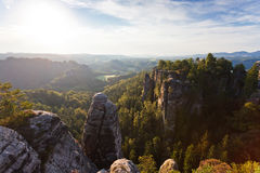 Bastei Royalty Free Stock Photography