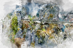 Bastei Royalty Free Stock Images