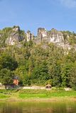 Bastei germany Stock Photo