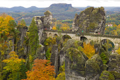 Bastei - Saxon Switzerland Stock Photography