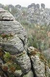 Bastei at Saxon Switzerland, Germany Royalty Free Stock Image