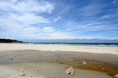 Bastendorff Beach, Coos County Park, Oregon Royalty Free Stock Photography