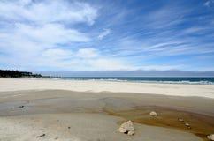 Bastendorff plaża, grucha okręgu administracyjnego park, Oregon Fotografia Royalty Free