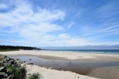 Bastendorff plaża, grucha okręgu administracyjnego park, Oregon Zdjęcia Stock