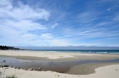 Bastendorff plaża, grucha okręgu administracyjnego park, Oregon Obrazy Royalty Free