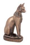 bastet猫埃及人小雕象 图库摄影