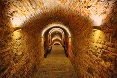 Bastião interno da parede da cidade de Vilnius lithuania Fotos de Stock