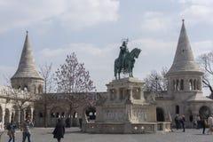 Bastión Budapest del pescador Imagen de archivo