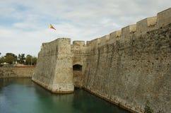 Bastión de Ceuta Foto de archivo libre de regalías