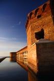 Bastión de Jefferon de la fortaleza fotos de archivo