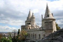 Bastión de los pescadores, castillo Fotos de archivo libres de regalías
