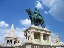 Bastión del pescador - Budapest, Hungría Fotos de archivo