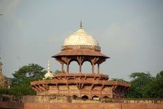 Bastión en el Taj Mahal, la India Fotografía de archivo
