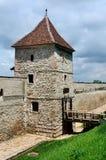 Bastión restablecido de la fortaleza de Brasov, Rumania Fotos de archivo