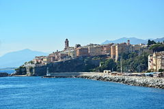 Bastia. City, sea, Bastia, Corsica, port on island france Stock Photo