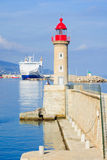 Bastia Commercial Port Stock Photo