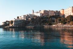Bastia-Hafen in Korsika, Frankreich lizenzfreie stockfotos