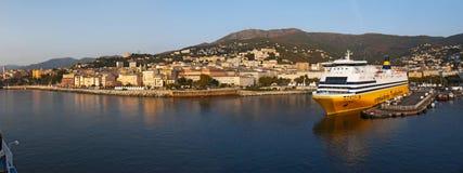 Bastia Korsika, Corse, Cap Corse, övreCorse, Frankrike, Europa, ö Royaltyfri Foto