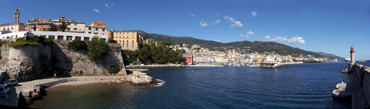 Bastia - la Corse - la France Photo stock
