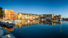 Bastia port in Corsica Royalty Free Stock Images