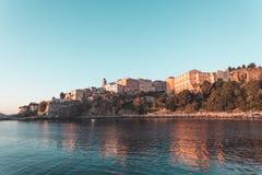 Bastia port w Corsica, Francja Obraz Stock