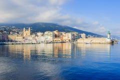 Bastia Vieux Port Royalty Free Stock Images