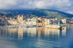 Bastia Vieux Port Stock Photo