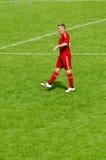 Bastian Schweinstei dal randello di calcio di Baviera Monaco di Baviera Fotografie Stock Libere da Diritti